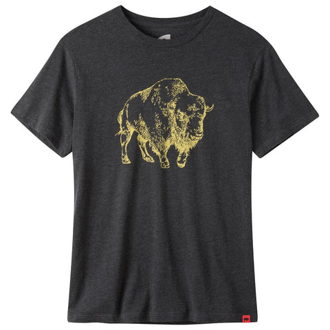 mountain khakis bison print t-shirt