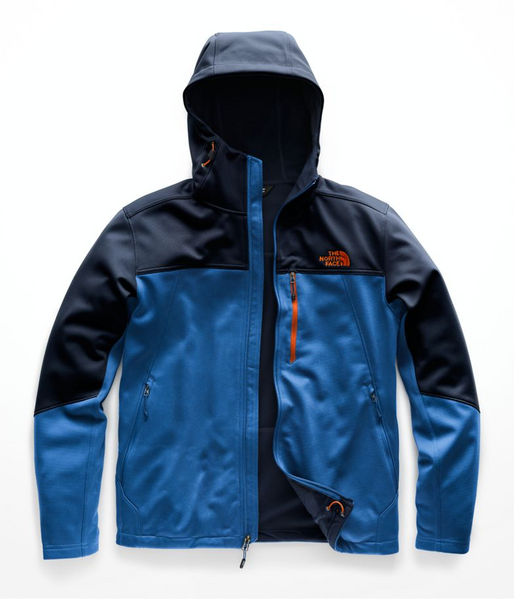 the north face mens apex canyonwall jacket blue navy