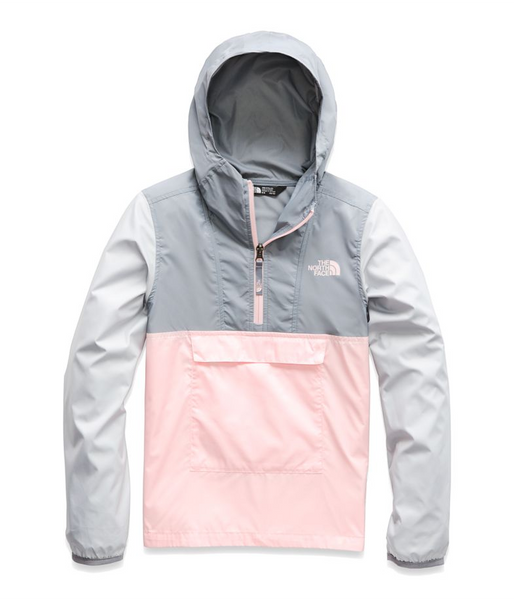 the north face women's fanorak jacket pink salt