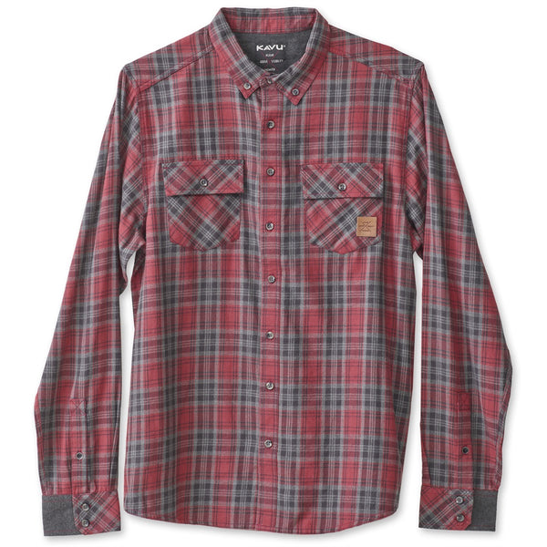 kavu buffaroni flannel shirt