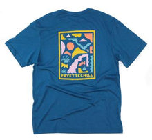 Fayettechill Abstract Ozarks Tee