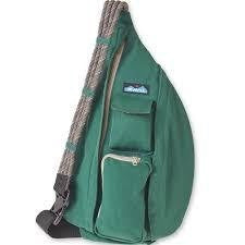 kavu rope sling bag pine