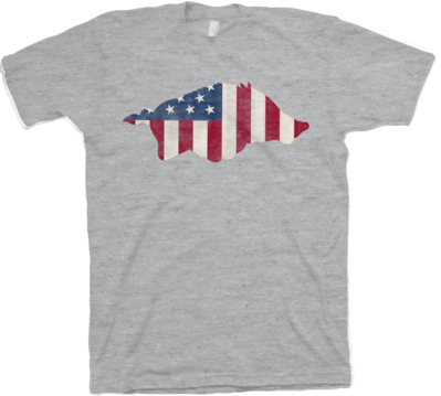 Patriot Hog Tee