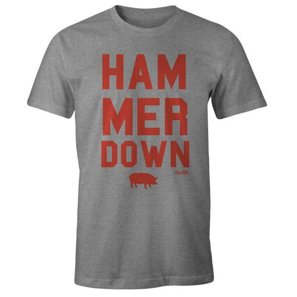 hammer down t-shirt
