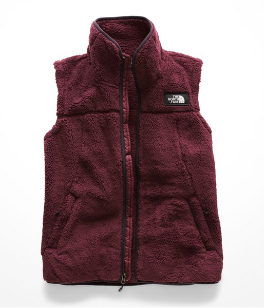 the north face women's campshire vest fig