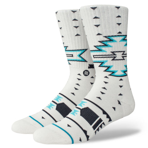 stance men's socks - leckey - white