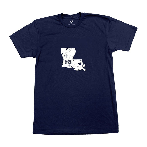 louisiana locally grown tshirt