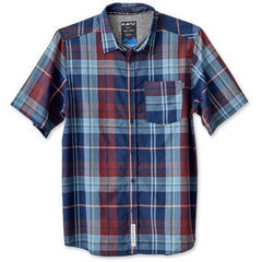 KAVU Button Up Short Sleeve Shirt - Rupert Manchester