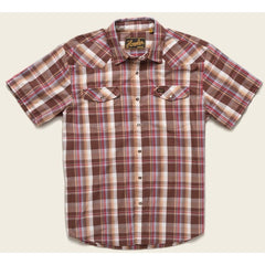Howler Brothers Snapshirt - Lafayette Plaid - Brownie