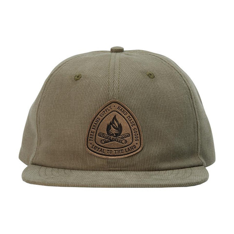 hippy tree station corduroy hat