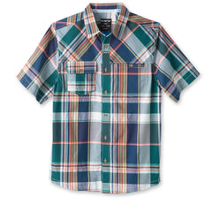 KAVU Men's Short Sleeve Button Up - Boardwalk