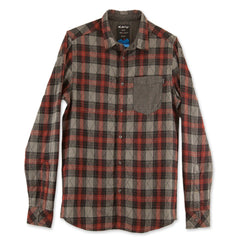 KAVU Reversible Button Up Long Sleeve Shirt - Stanwood