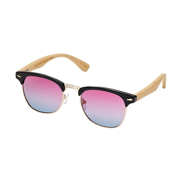 blue planet sunglasses black rose blue lenses