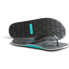 Hari Mari Women's Flip Flops - Sea Foam & Black - Fields Style