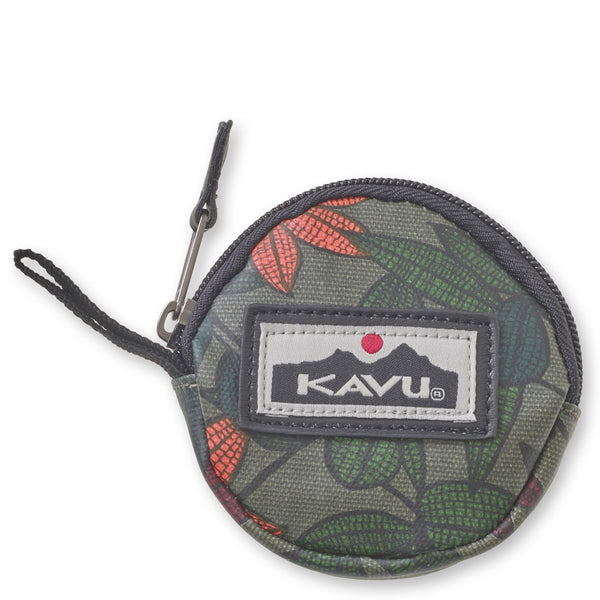 kavu coininky dink coin purse floral vines