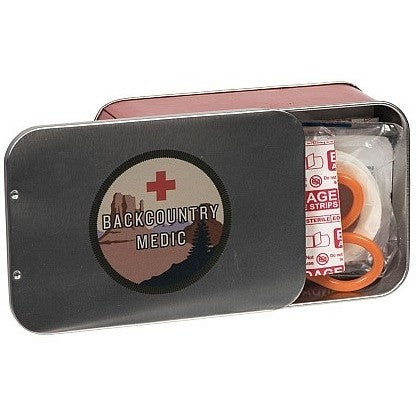 Wanderlust First Aid Kit in Tin