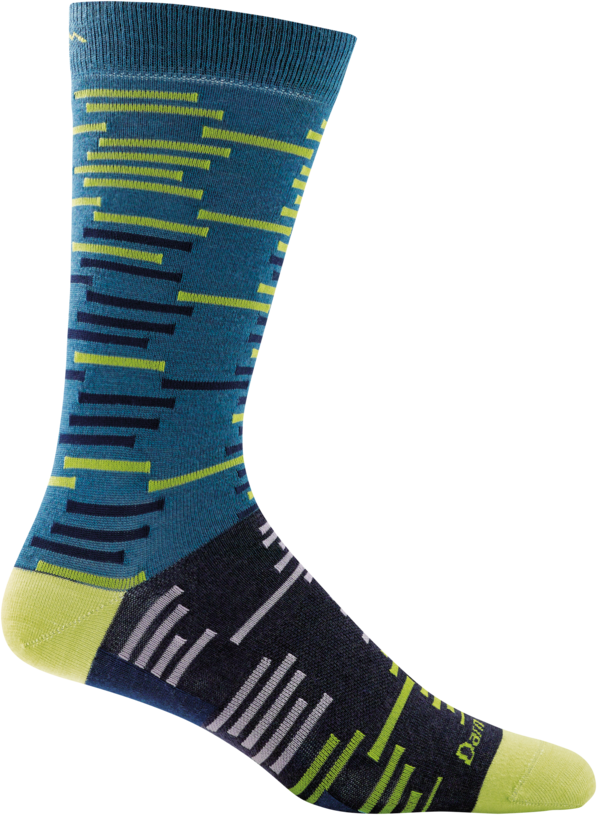 Darn Tough Dashes Crew Light Men's Sock Blue