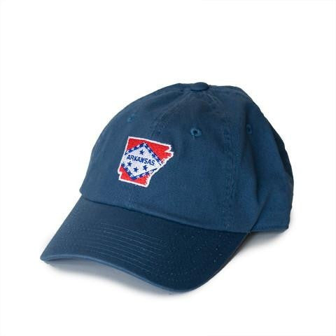 arkansas flag hat front