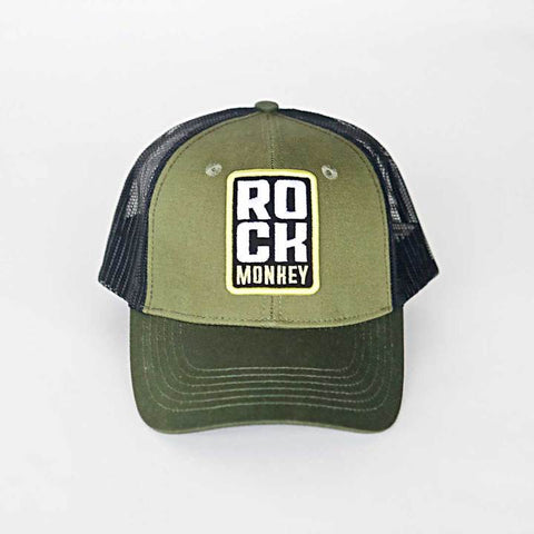 Rock Monkey Green Hat