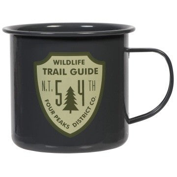 Wildlife Guide Enamel Mug