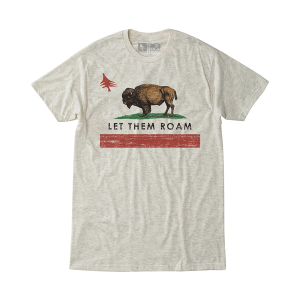 hippy tree republic tee buffalo bison