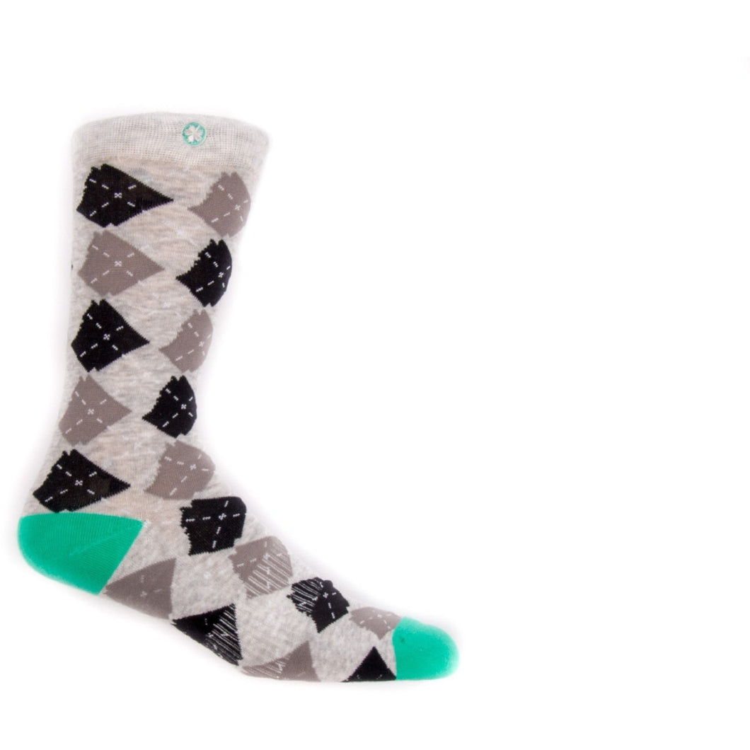 ARgyle Arkansocks Heather/Teal