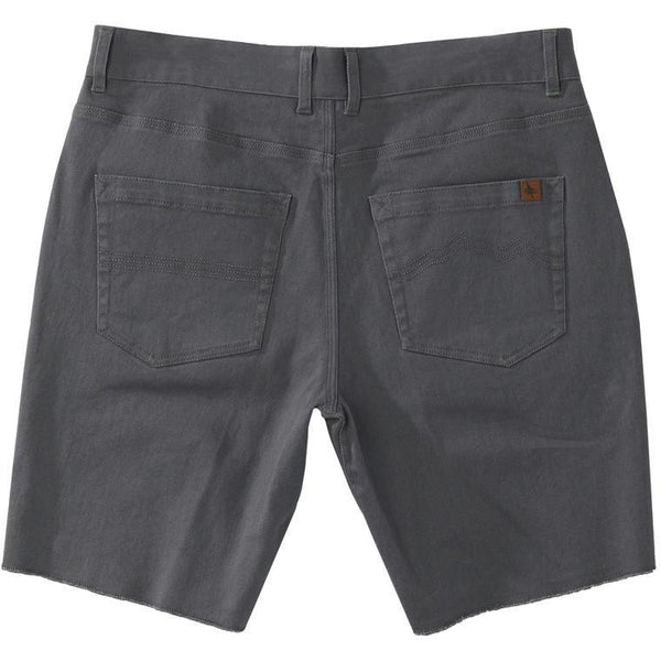hippy tree trail short - charcoal