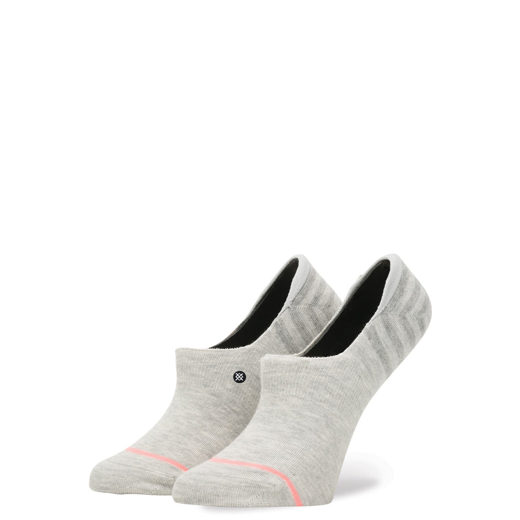 stance socks women's uncommon invisible - grey