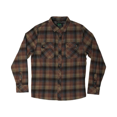 hippy tree sheldon flannel rust