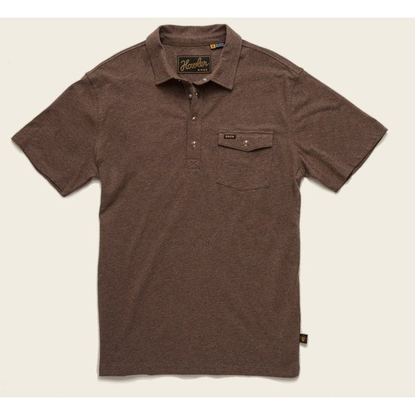 howler brothers polo cocoa