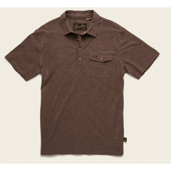 Howler Brothers Polo - Cocoa