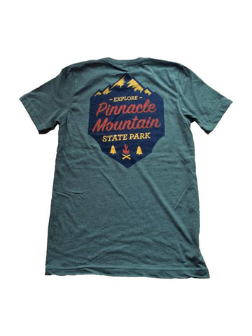 roche explore pinnacle mountain t-shirt