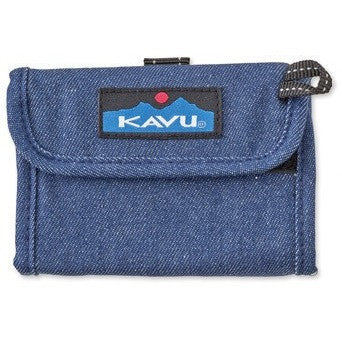 kavu wally wallet denim