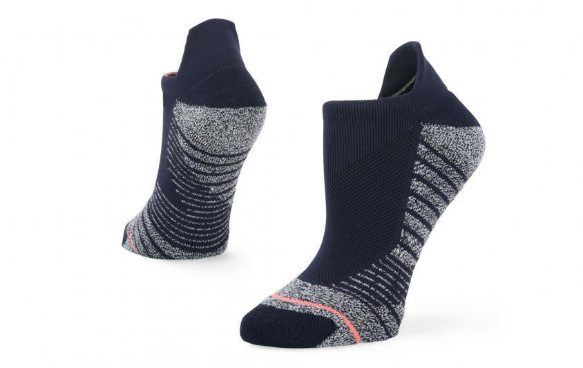 stance socks women's isotonic tab blue