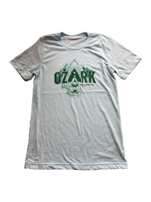 roche ozark mountains t-shirt