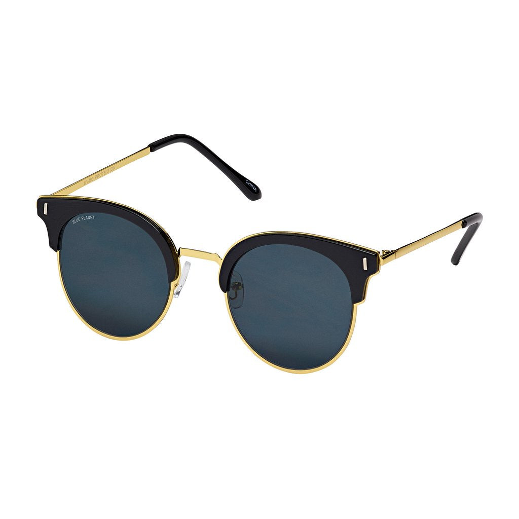 blue planet sunglasses skye black gold