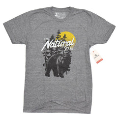 Arkansas Natural State Bear T-Shirt
