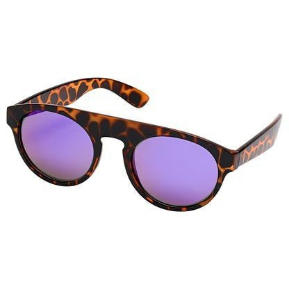 blue planet duke sunglasses tortoise frame and purple lens