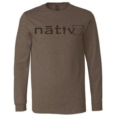 Nativ Arkansas Longsleeve T-Shirt - Brown
