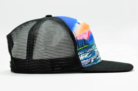 cirque american rivers trucker hat