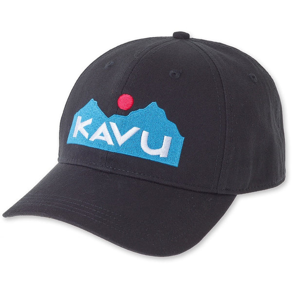 kavu logo hat black