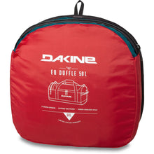 dakine eq duffle 50l bagged up