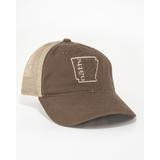 Arkansas Nativ Brown Trucker Hat