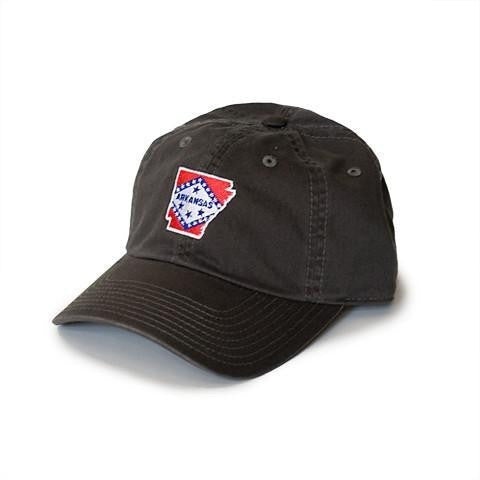 charcoal Arkansas hat