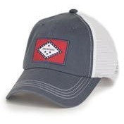 Arkansas Flag Navy Trucker Hat
