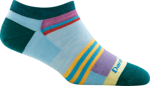 Darn Tough Modern Stripe No Show Light Women's Socks