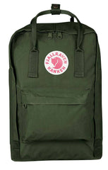 "Fjallraven Kanken Backpack 15"" Forest Green"