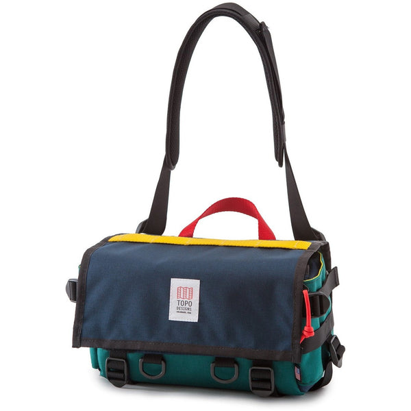 Topo Designs Navy/Teal Field Bag
