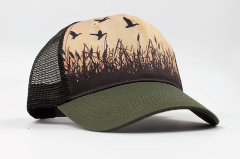 cirque trucker hat - duck hunter