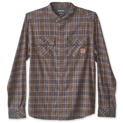 KAVU Buffaroni Flannel Shirt - Earth